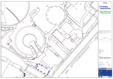 Pc Monitoring London Gasholder Kings Park Road Data 2