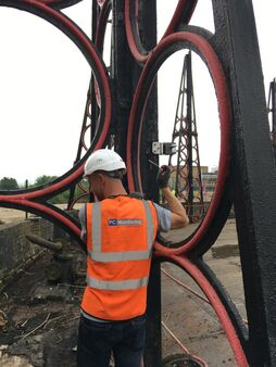 Pc Monitoring London Gasholder Kings Park Road Staff