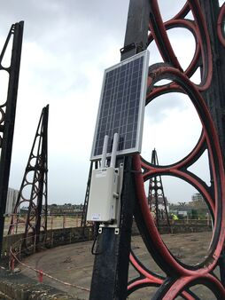 Pc Monitoring London Gasholder Kings Park Road Equipment 8