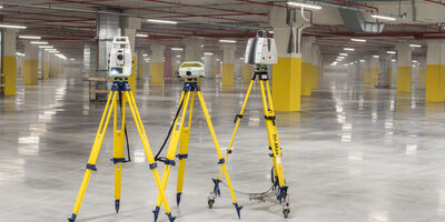 Property Industrial Floor Flatness Staff Equipment Scanners