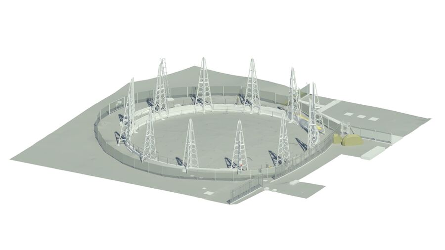 Bim Fulham Gasworks Kings Road Park Gasholder 3
