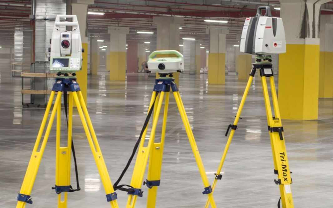 Laser Scanner Floor Warehouse