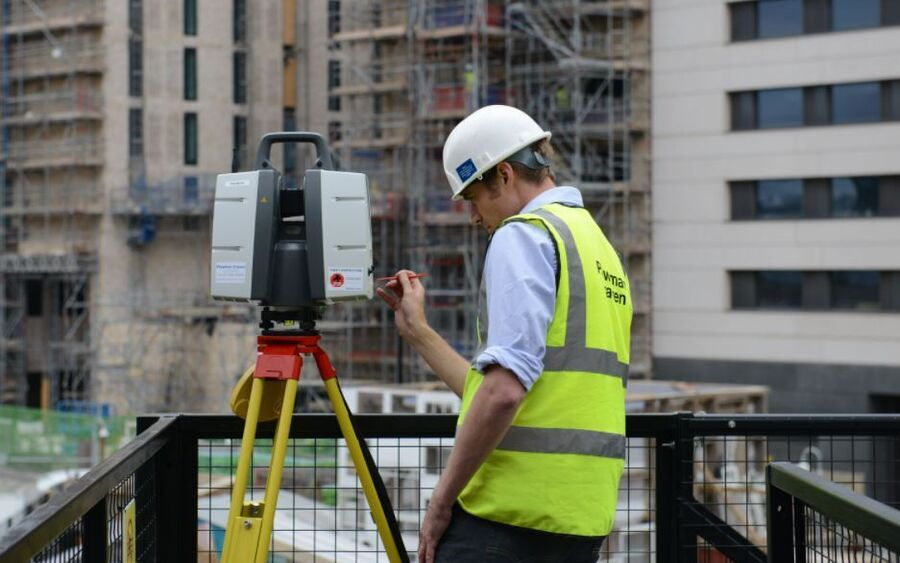 Building Design Construction Laser Scanning