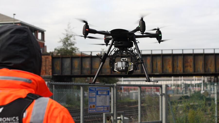 UAV Vogel Take Off
