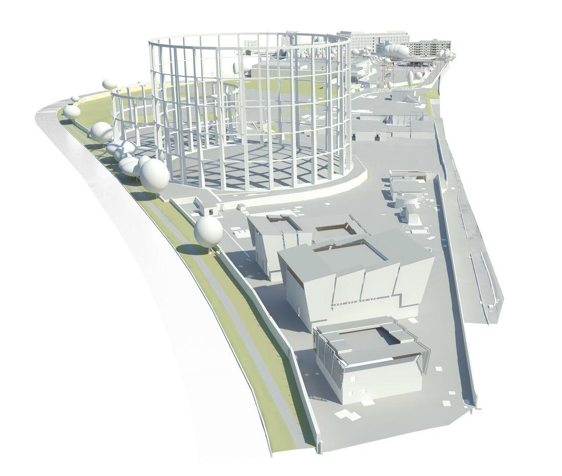 BIM Model of Clapham Park Estate
