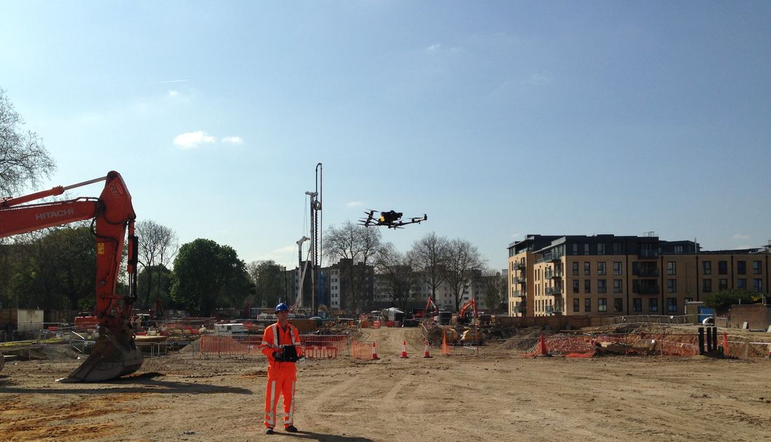 Uav Generic Pilot Construction Site