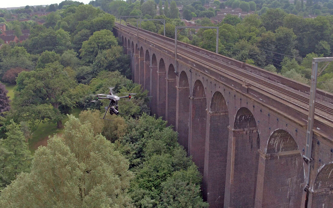 UAV Vogel Infrastructure Aqueduct 2