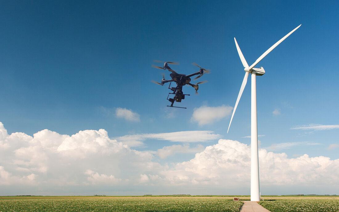UAV Vogel Infrastructure Turbine