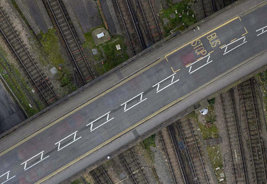 UAV Vogel Infrastructure Road Guildford
