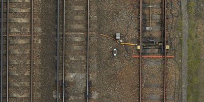 Rail UAV Vogel Salfords Sidings