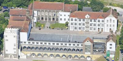 Property Priority Schools Aerial Shot