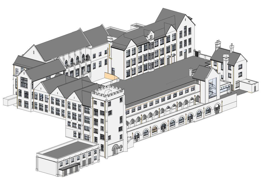 Property Priority Schools BIM Model