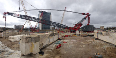 Property Earls Court PCM Keltbray Supercrane 2