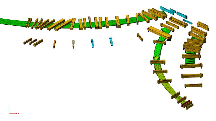 Portal Beam Model