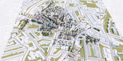Property Clapham Park BIM Model Aerial 4 1