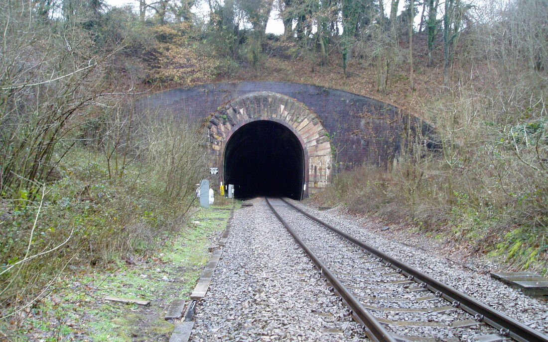 Rail Chipping Campden Tunnel Entrance 2