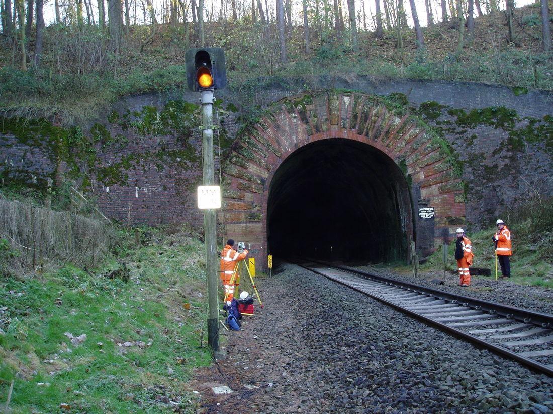 Rail Chipping Campden Tunnel Main