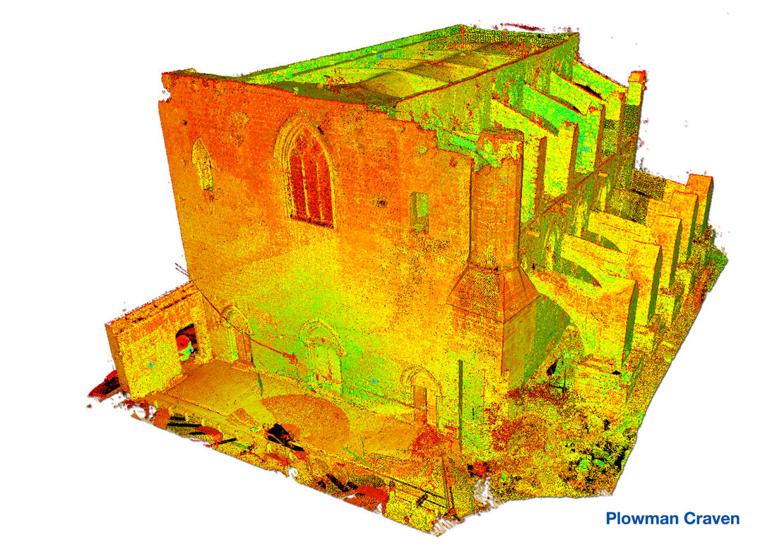 Sinan Pasha Mosque, Famagusta Point Cloud Model