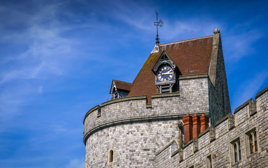 Heritage Curfew Tower Windsor Castle Main
