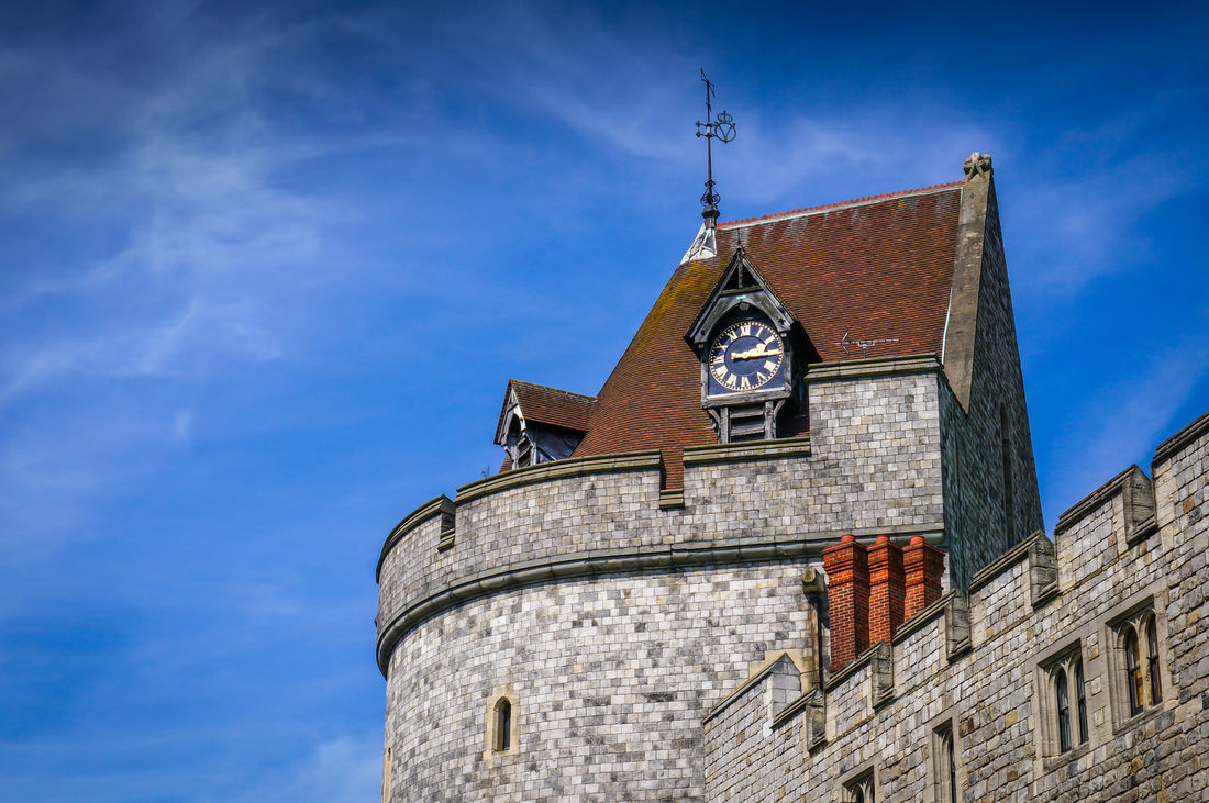 Heritage Curfew Tower Windsor Castle Main