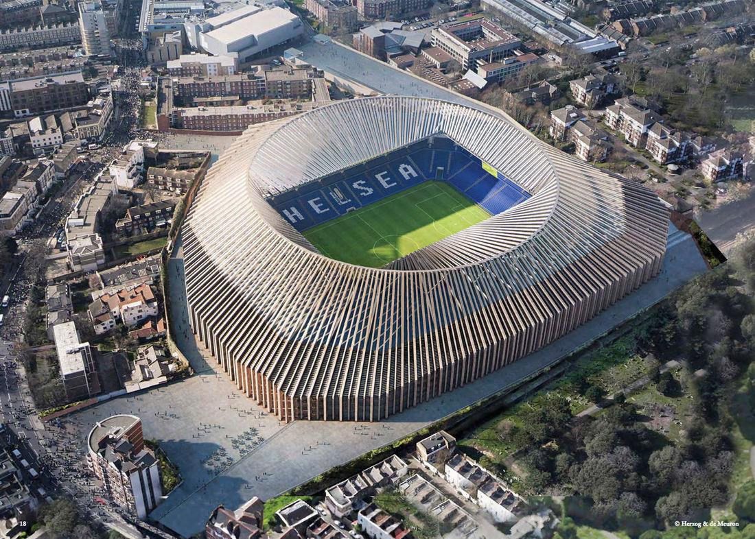 Proposed New Chelsea FC Stadium