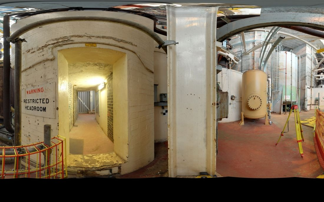 Infrastructure Hunterston Nuclear Laser Scanning 2