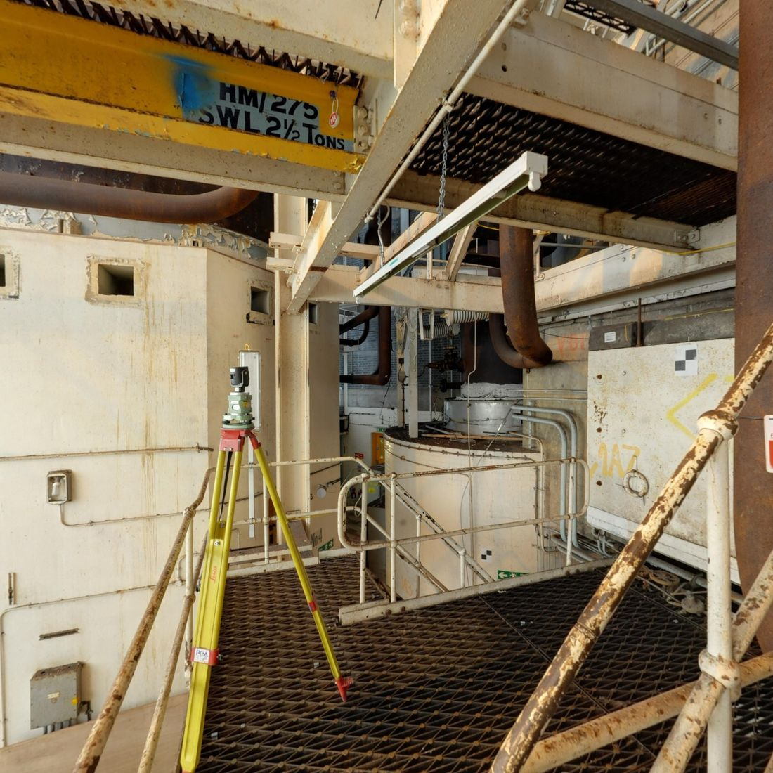 Infrastructure Hunterston Nuclear Laser Scanning