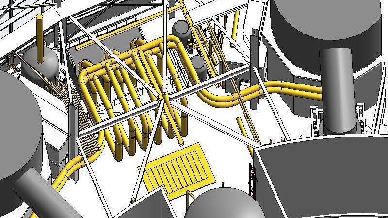 Infrastructure Hunterston Nuclear Bim Model 2