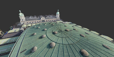 Property Poultry Market Point Cloud Roof 2