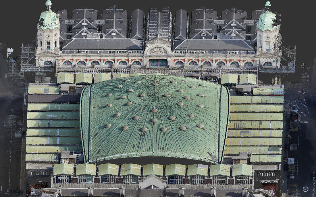 Property Poultry Market Point Cloud Roof 4