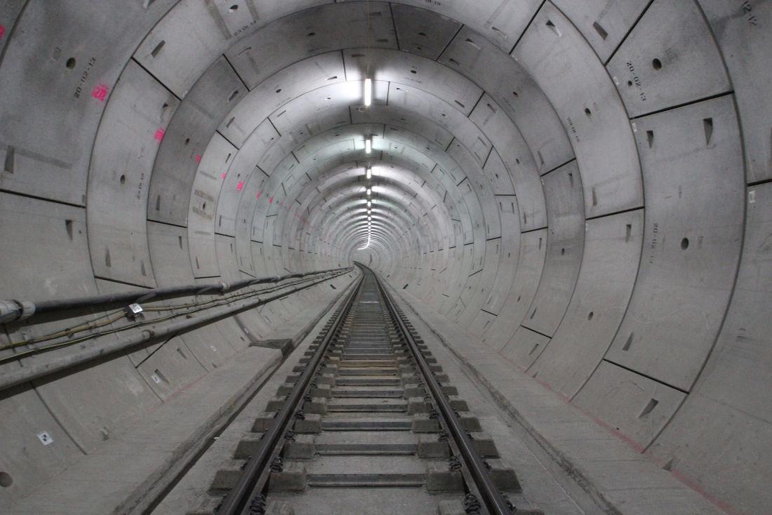 Rail Crossrail Tunnel