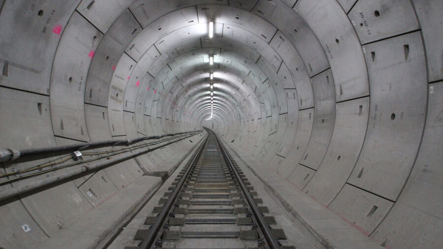 Rail Crossrail Tunnel
