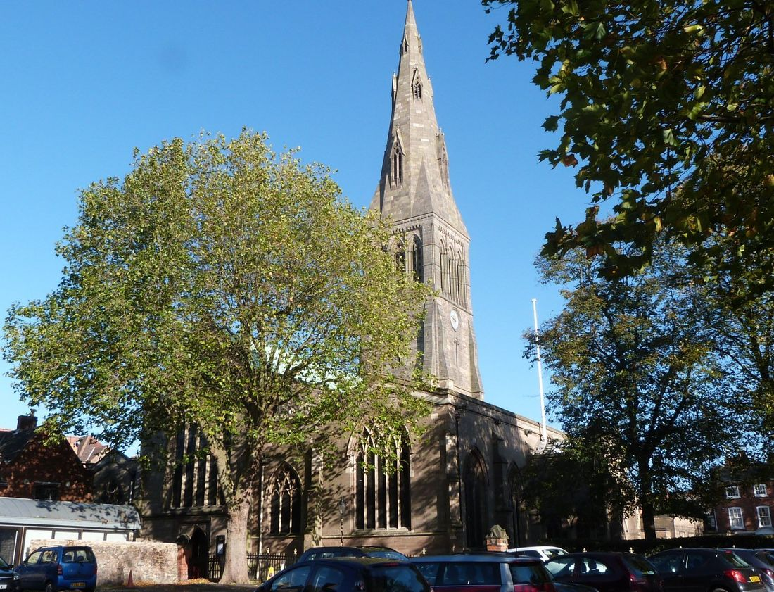 Heritage Leicester Cathedral Exterior