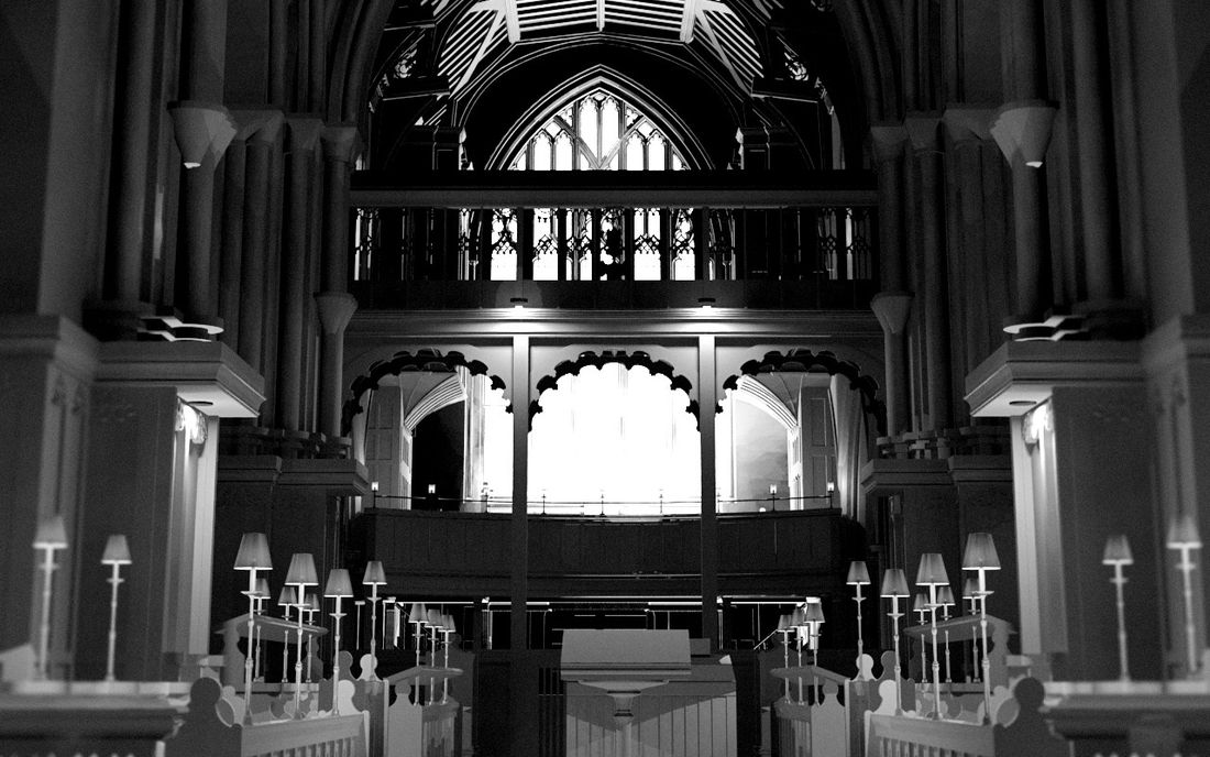 BIM model of Leicester St Martins Cathedral