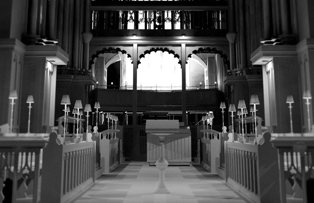 Leicester St Martins Cathedral BIM Model - Internal