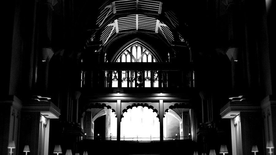 BIM Model of Leicester Cathedral Interior