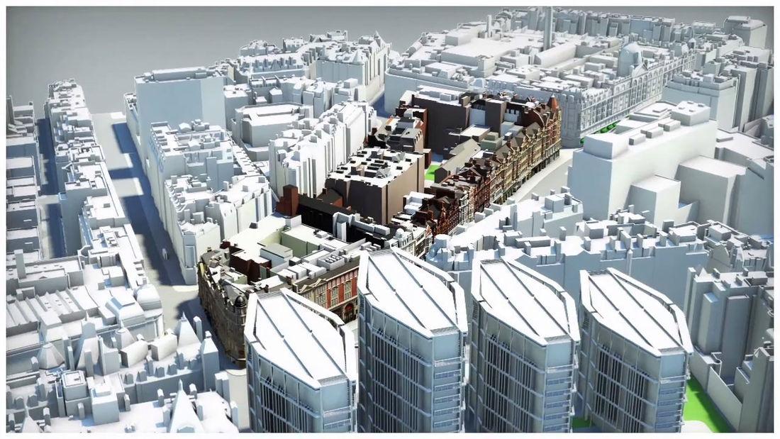 Knightsbridge 3D Visualisation