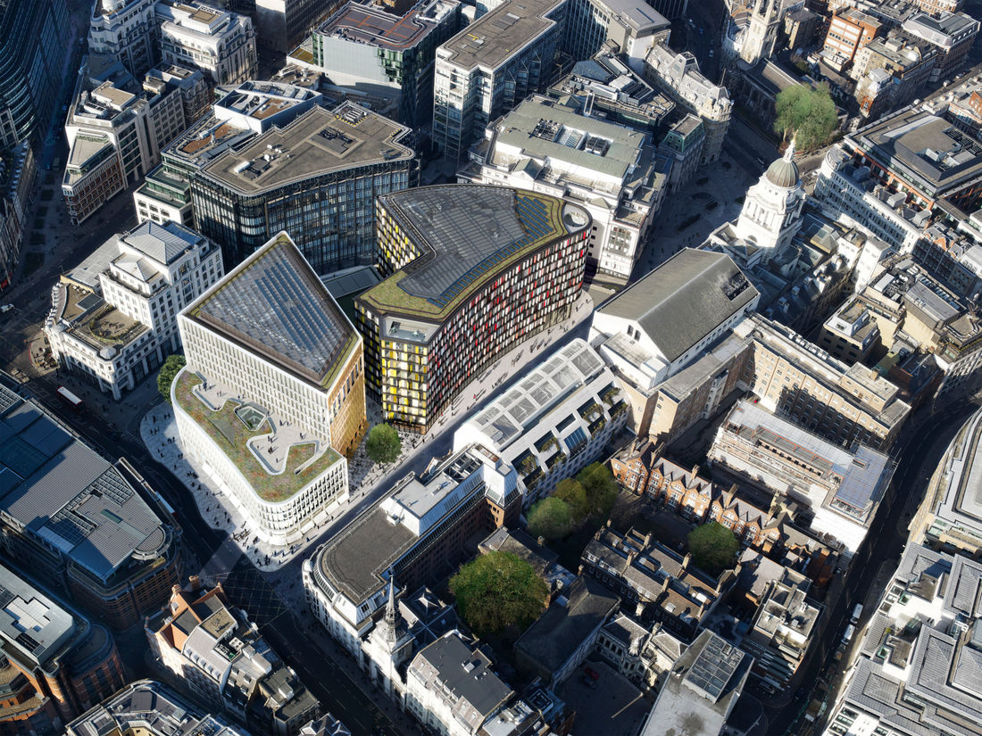 Property Old Bailey Ludgate Hill Aerial