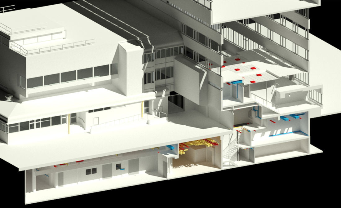 Property City University Bim Render 2