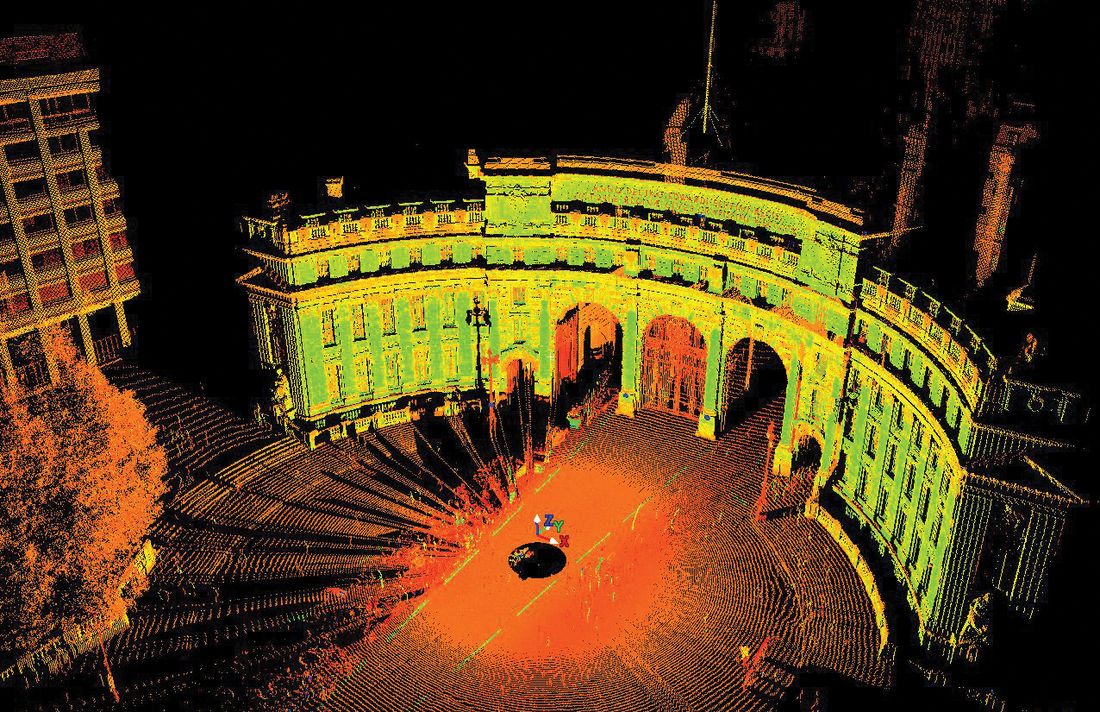 Admiralty Arch Scan