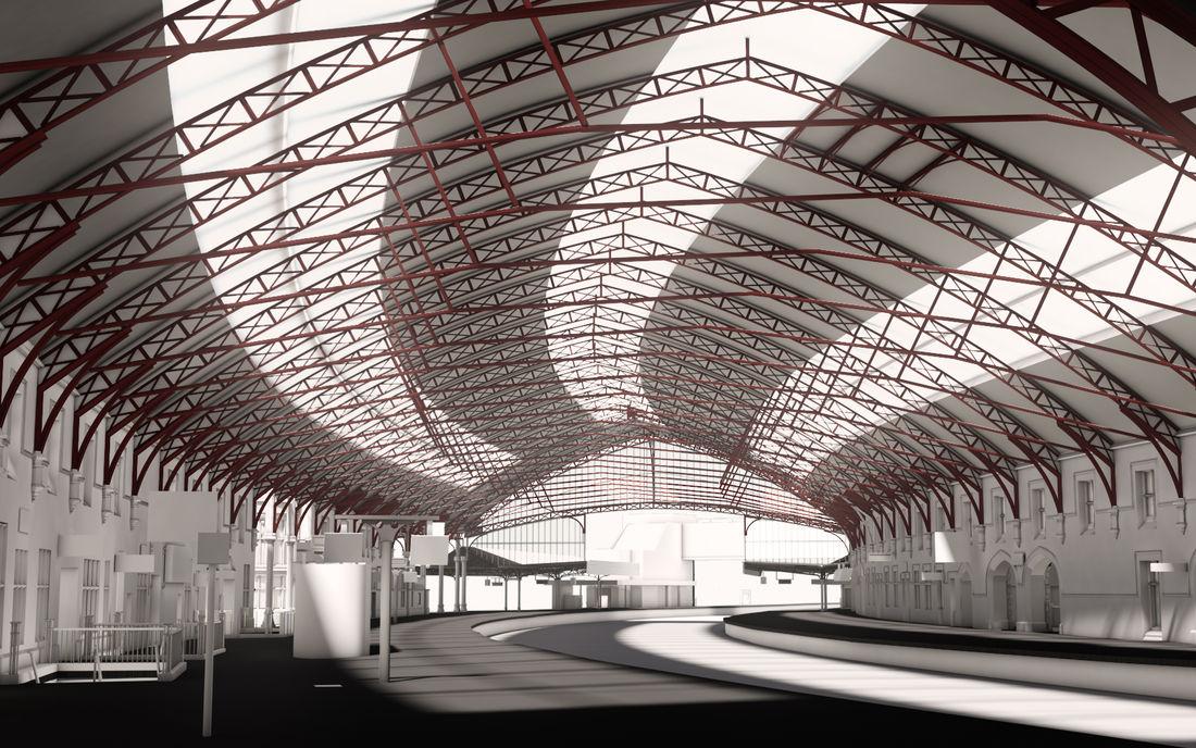 Rail Bristol Temple Meads BIM Model Internal