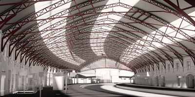 Rail Bristol Temple Meads BIM Model Internal