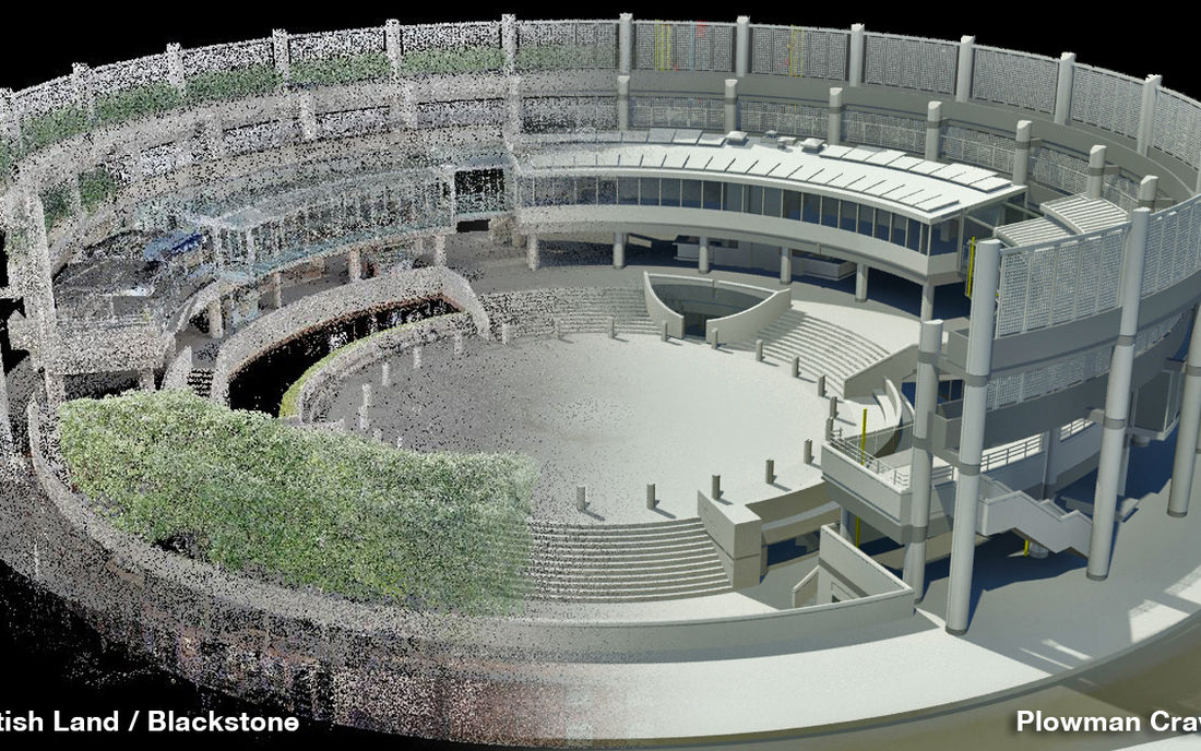 Property Broadgate Arena 3 D Model Half Scan