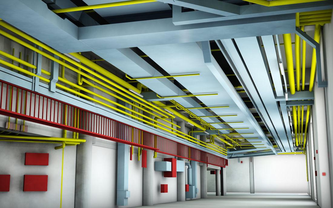 Property Broadgate Arena Mep BIM Model