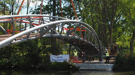 Infrastructure Jubilee Bridge Construction