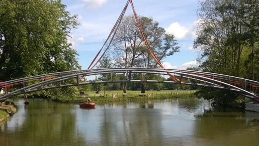 Infrastructure Jubilee Bridge Construction 2