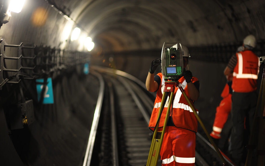 Rail Underground Tunnel Staff Equipment