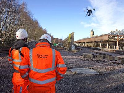 Plowman Craven awarded Network Rail UAV Framework Contract