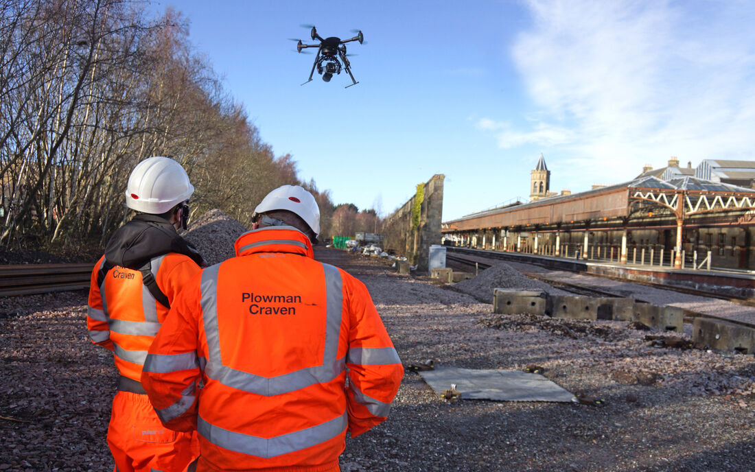 Aerial Surveys & Inspection | Plowman Craven