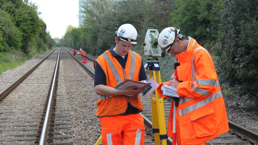Rail Generic Staff Equipment Track Measurement 2